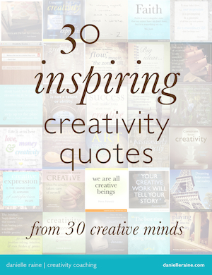 30 creativity quotes sidebar